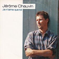 CD CARTONNE CARDSLEEVE JEROME CHAUVIN 2T DE 1994 JE N'AIME QUE TOI