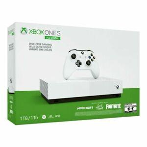 Microsoft Xbox One S All Digital Edition V2 1TB White Console