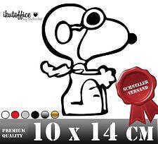 Autoaufkleber Sticker Aufkleber Snoopy Pilot Baron