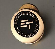 Vintage Lapel Service Employee Pin Badge: EngineeringTechnology
