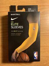 Nike Men Elite Official On Court Nba Basketball Shooter Arm Sleeves S/M