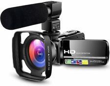 Camcorder Video Camera HD 1080P Vlogging YouTube Recorder Vlogger Live streaming