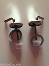 Toilet Seat Hinges Brand New Stainless Steel -HS0302