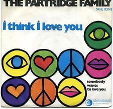 "THE PARTRIDGE FAMILY I THINK I LOVE YOU EX 7"" ITALY"