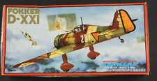 Pioneer 2 1/72 Fokker D-XXI Series 3 #3004 Sealed parts. Ships from the US