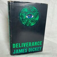 Deliverance by James Dickey, HCDJ, First printing, Inscribed from James Dickey