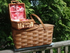 2 Picnic Baskets Outdoor Eating