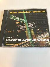 Mike Manieri Quintet CD Live At Seventh Avenue South 56