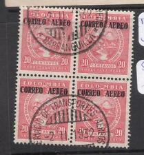 Colombia SC C86 Block of Four VFU (2dnq)