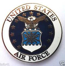 *** AIR FORCE (LOGO D) ***Military Veteran Hat Pin P12775 EE