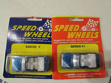 Speed Wheels Lot of (2) Blue convertible Series VI & V