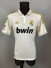 REAL MADRID 2011/2012 HOME FOOTBALL SOCCER CAMISETA JERSEY ADIDAS SIZE M