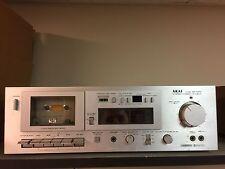Vintage AKAI GX-M10 Single Stereo Two-Head Cassette Deck (read description)