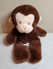 "10"" Baby Gund Brown Monkey Plush Stuffed Animal Lovey Toy 4059917"
