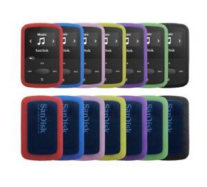 for Sandisk Sansa Clip Jam (SDMX26) Silicone Rubber Gel Bumper Skin Cover Case