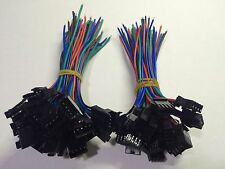 20PCS  4pin 100mm Wire Male/female led strip RGB connector Wire Cable