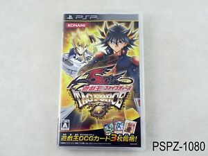 Yu-Gi-Oh! 5D's Tag Force 6 Japanese Import PSP Portable Japan Yugioh US Seller A
