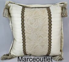"Croscill Home Alexander 18"" x 18"" One Decorative Pillow Gold"