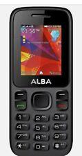 SIM Alba 1.8 Inch TFT 32mb 2g Mobile Phone Black Big Button Smart