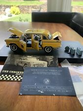 Franklin Mint Checker Cab Collectible