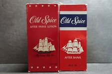 2 mal Vintage Old Spice After Shave Shulton selten rare 125ml & 140ml Top