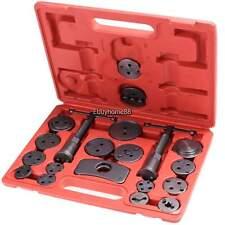 Universal Caliper Tool Kit Case 22pc Wind Back Disc Brake Pad Piston Compressor