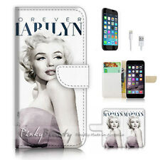 ( For iPhone 7 Plus ) Wallet Case Cover P2954 Marilyn Monroe
