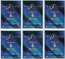 X FILES MOVIE FIGHT THE FUTURE SET OF 6 MYSTERY INK CARDS