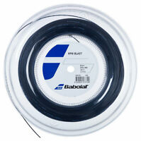 BABOLAT RPM BLAST TENNIS STRING - 1.25MM 17G - 200M REEL - BLACK - RRP £180