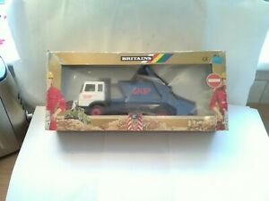 Vintage Britains Farm Road Series Blue Skip Lorry 9920 Boxed From 1987 Front...