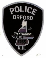 ORFORD NEW HAMPSHIRE NH POLICE NEW SUBDUED SWAT PATCH SHERIFF