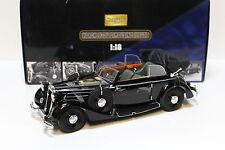 1:18 Ricko horch 930v Limousine/cabriolet Black New en Premium-modelcars
