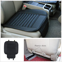 Breathable PU Bamboo Charcoal Car Seat Cover Pad Mat for Auto Chair Cushion 1PCS