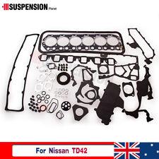 Overhaul Full Engine Gasket for Nissan Safari Patrol 4.2L TD42 T GQ Y60 Y61