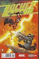 Rocket Raccoon #4 Marvel Comics Skottie Young Guardians Groot HIGH GRADE NM D238