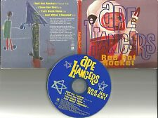 APE HANGERS Red Hot Rocket 3 UNRELEASED w/ THE CARS Remake Cover PROMO CD single