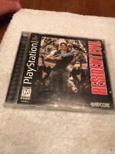 PS1 RESIDENT EVIL 1996 black label Complete HORROR video game PlayStation