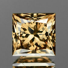 1.00 Cts UNTREATED NATURAL FANCY ORANGY BROWN COLOR LOOSE DIAMOND