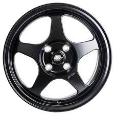 MST Wheels MT29 15 x 6.5 +35 Flat Black Rims 4x100 92 95 98 02 Honda Civic SI EX