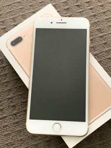 Apple iPhone 7 Plus - 128GB - Gold A1784 - Excellent Condition!