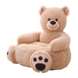 Baby Kids Children Couch Sofa With Filling Chair Toy Bear Cartoon Pouf Seat