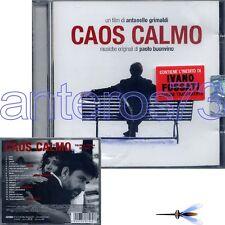 """PAOLO BUONVINO """"CAOS CALMO"""" RARE CD OST SEALED - IVANO FOSSATI"""