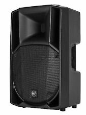 """2 X RCF Art 715-a Mk4 15"""" 2800w Active Powered PA Speaker Stands 3yr"""
