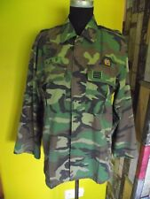 Rare ROK South Korean Navy Seals Special Forces camouflage shirt, badged,unusual