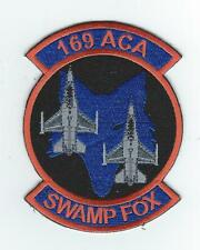 "169th FW ACA (AEROSPACE CONTROL ALERT) ""SWAMP FOX"" #2 patch"