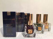 Estee Lauder Pure Color Nail Lacquer  #Caviar/Nudite 9ml Choose One