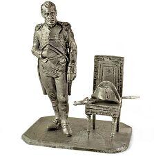 France. Napoleon 1799 Tin toy soldiers. 54mm miniature figurine. metal sculpture
