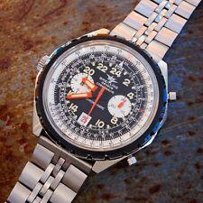 Breitling COSMONAUTI Navitimer chronomatic 1809 VINTAGE piloti Cronografo CAL 11