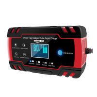 Voiture Chargeur de batterie LCD 12V-24V Auto Jump Booster démarrage