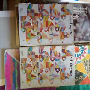 10 Sussidiari libri vacanze lettura scuola classi 3 4 5 elementare vintage